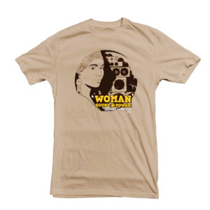 Woman Sound Powah Reggae t-shirt