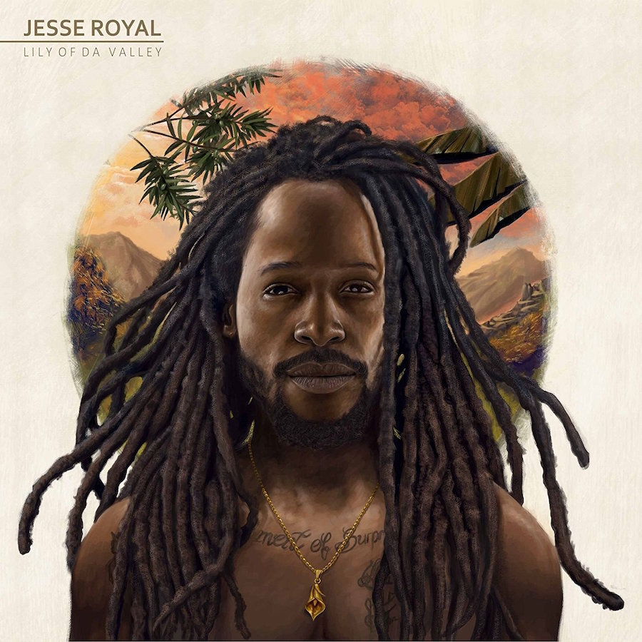 "Jesse Royal Lily Of Da Valley 12"" vinyl"