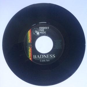 """Lion Art Badness 7"""" vinyl"""