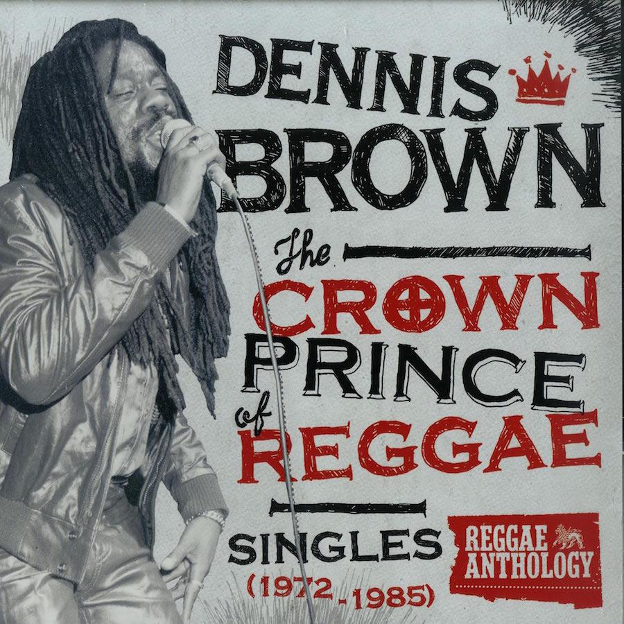 """Dennis Brown The Crown Prince Of Reggae 12"""" vinyl"""