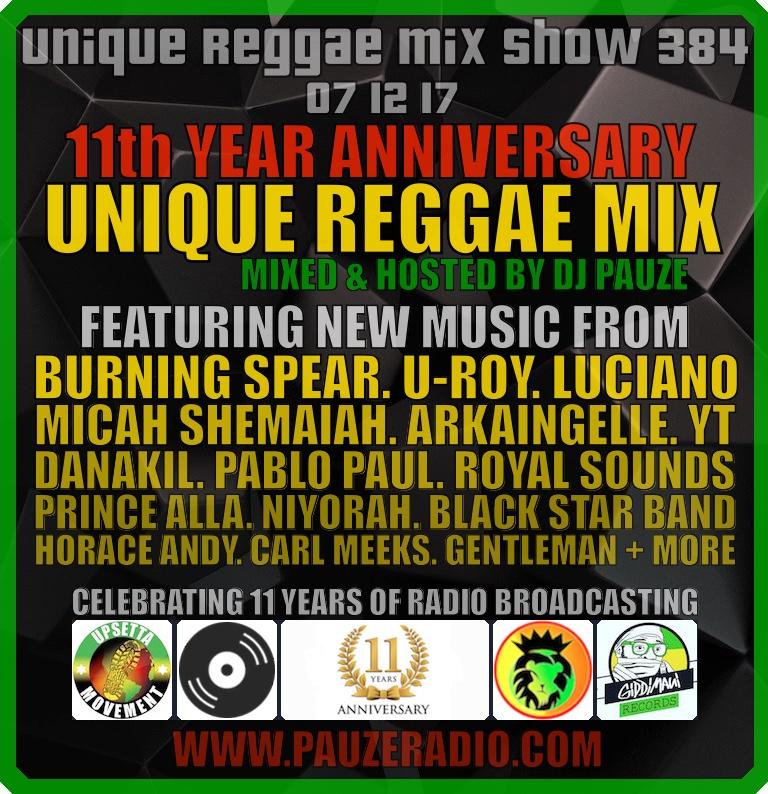 Unique Reggae Mix 2017