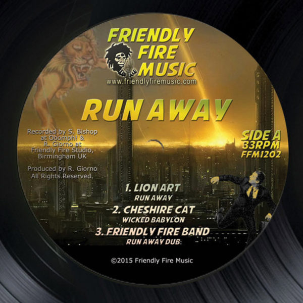 Lion Art Run Away / Cheshire Cat Wicked Babylon 12 vinyl
