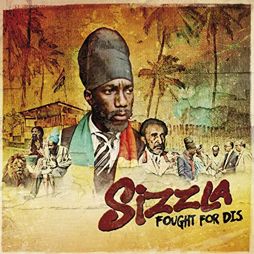 Sizzla Fought For Dis 12 vinyl lp