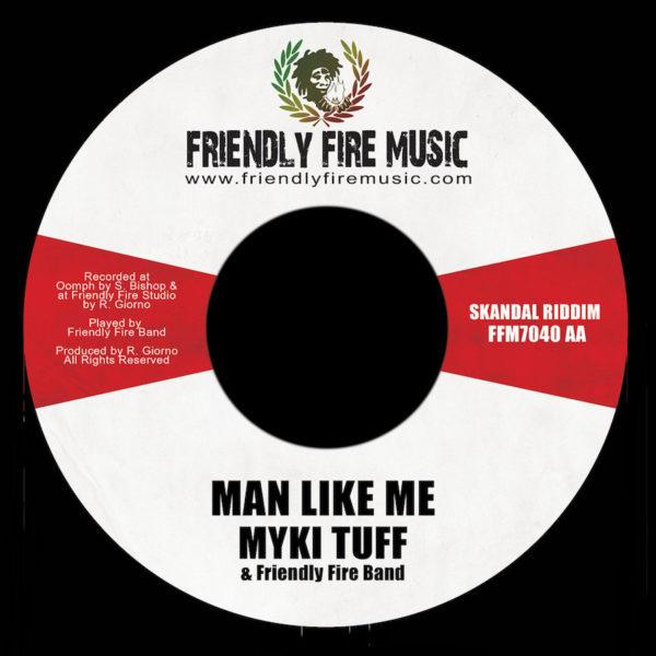 Myki Tuff - Man Like Me 7 Vinyl