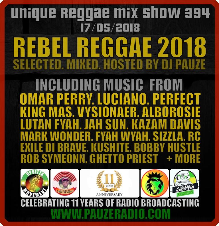 Rebel Reggae 2018