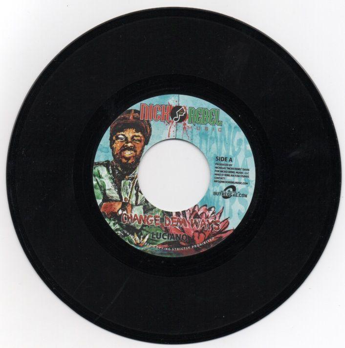 Luciano - Change Dem Ways 7 vinyl