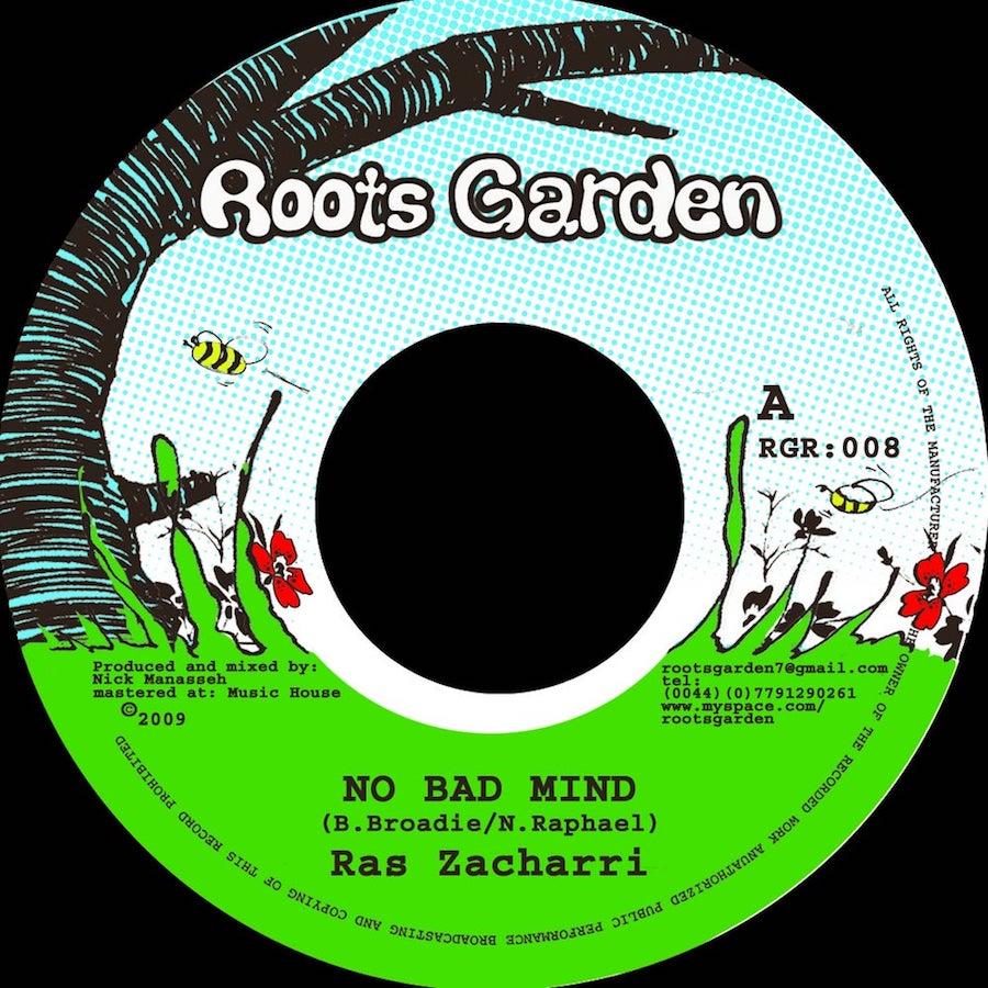 Ras Zacharri No Bad Mind 7 vinyl