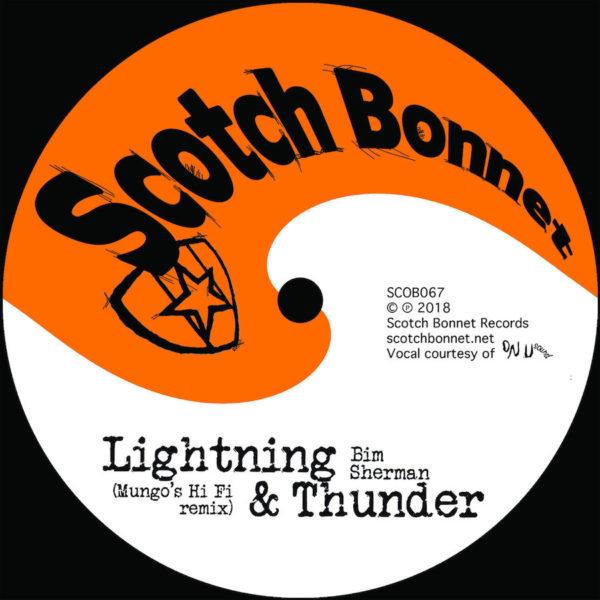 Bim Sherman Lightning Thunder 10 vinyl RSD18 Special