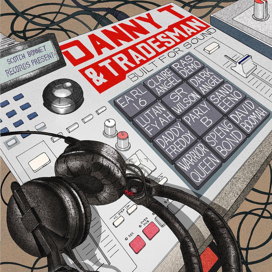 Danny T Tradesman Built For Sound 12 vinyl lp