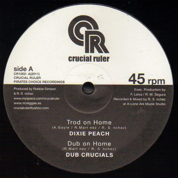 Dixie Peach Trod On Home 10 vinyl