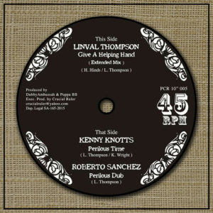 Kenny Knotts Perilous Time 10 vinyl