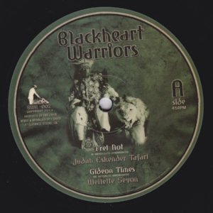 Judah Eskender Tafari Fret Not 10 vinyl
