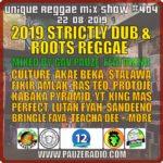 2019 Strictly Dub Roots Reggae