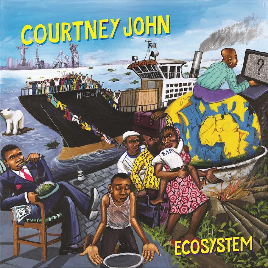 Courtney John Ecosystem 12 vinyl lp