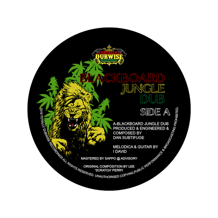 Subtifuge ft I David Blackboard Jungle 7 Vinyl