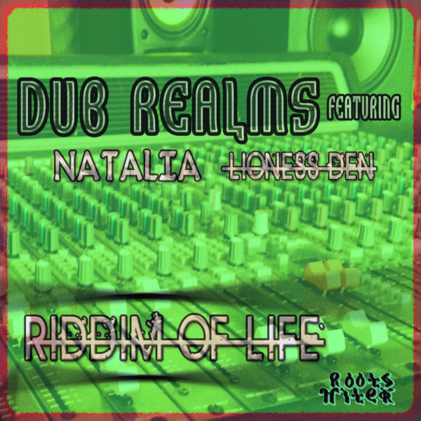 Dub Realms ft Natalia Riddim Of Life CD
