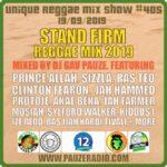 Stand Firm Reggae Mix 2019
