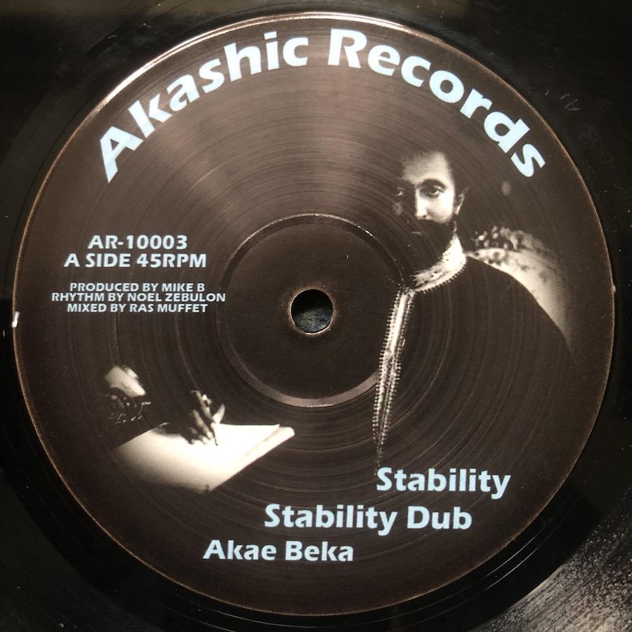 Akae Beka Stability 10 vinyl