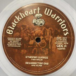 Fikir Amlak Ethiopian Sunrize 10 Clear vinyl