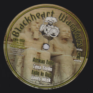 Tenastelin Afrikan Exile / Return To Glory 10 vinyl