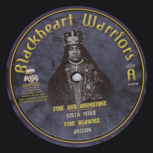 Sista Miko Fire And Brimstone 10 vinyl