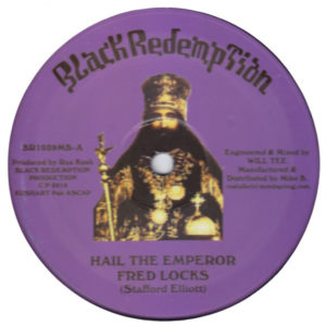 Fred Locks Hail The Emperor 10 vinyl