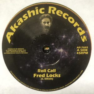 Fred Locks Roll Call 7 vinyl