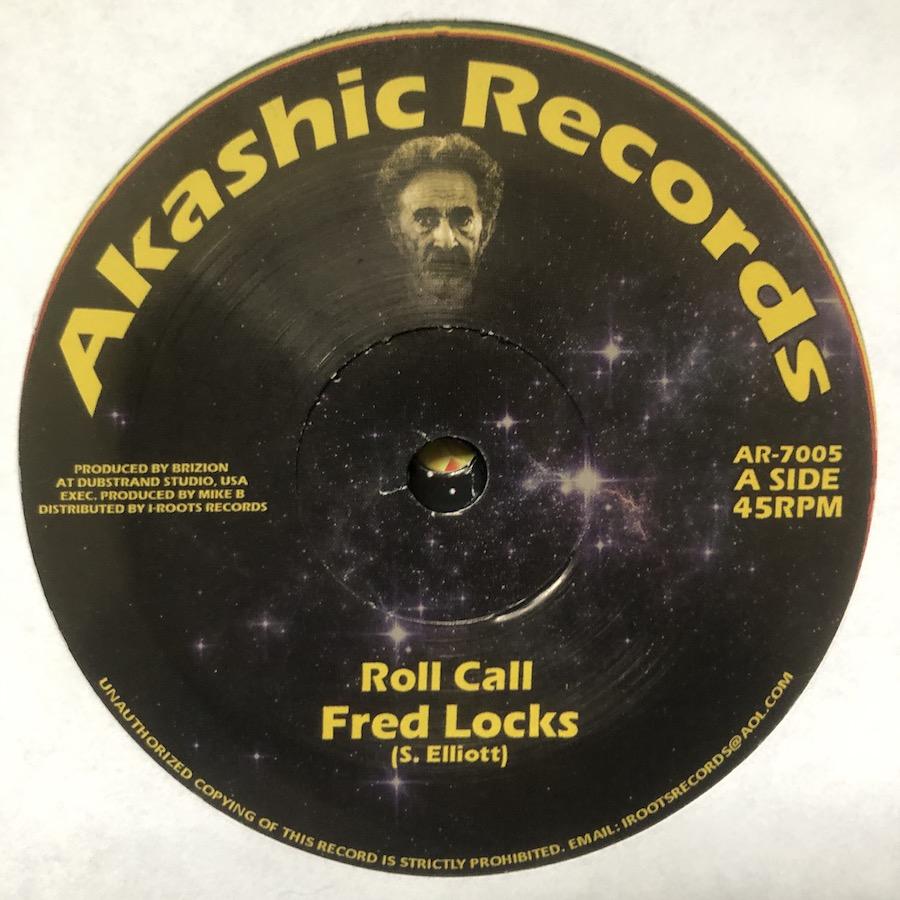 Fred Locks Roll Call 7 vinyl