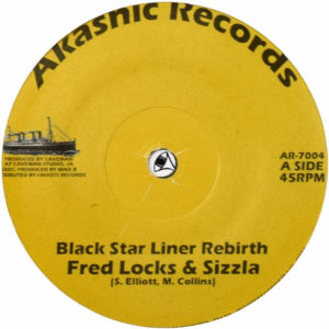 Fred Locks Sizzla Black Star Liner Rebirth 7 vinyl