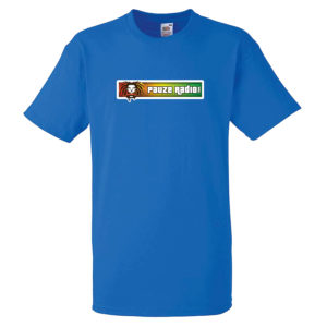Pauzeradio Reggae T-Shirt Blue