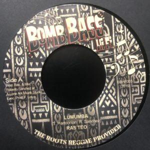 Ras Teo Lumumba 7 vinyl
