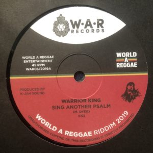 Warrior King Sing Another Psalm 7 vinyl