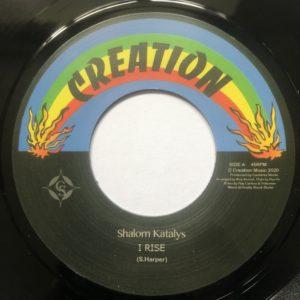 Shalom Katalys I Rise 7 vinyl