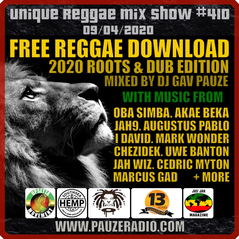 Free Reggae Download 2020 Roots & Dub Edition