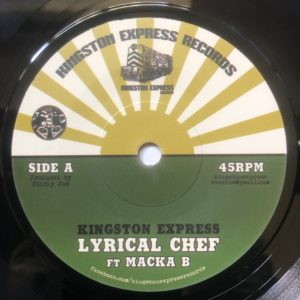 Macka B Lyrical Chef 7 vinyl