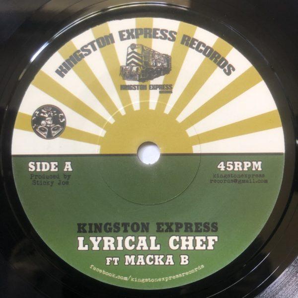 Macka B Lyrical Chef 7 vinyl