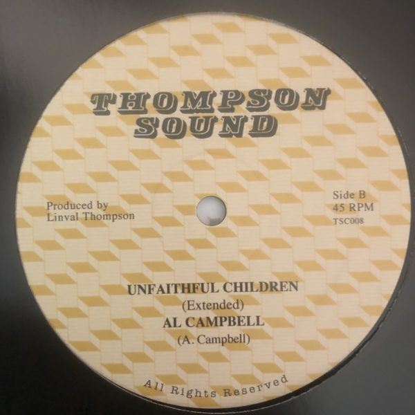 Al Campbell Unfaithful Children 12 vinyl