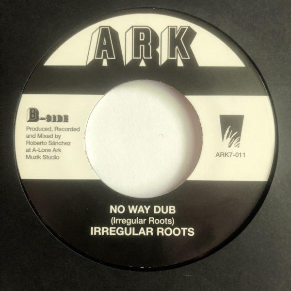 Irregular Roots No Way Dub 7 vinyl