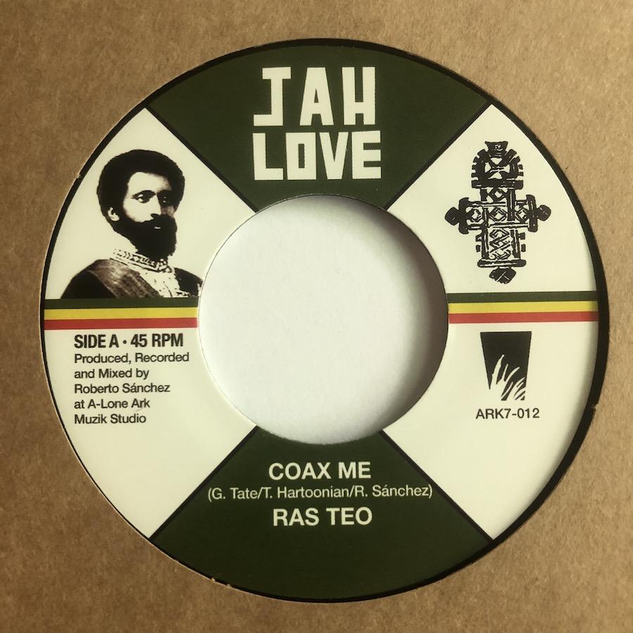 Ras Teo Coax Me 7 vinyl