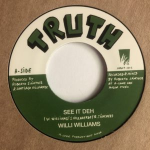 Willi Williams See It Deh 7 vinyl