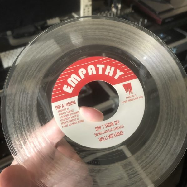 Willi Williams Don't Show Off Clear Vinyl
