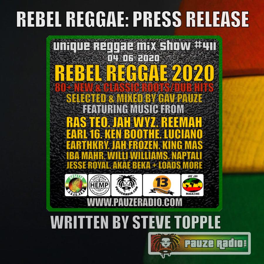 Rebel Reggae Press Release
