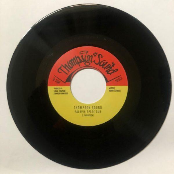 Thompson Sound Palavin Spree Dub 7 vinyl