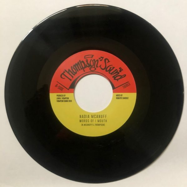 Nadia McAnuff Words Of I Mouth 7 vinyl
