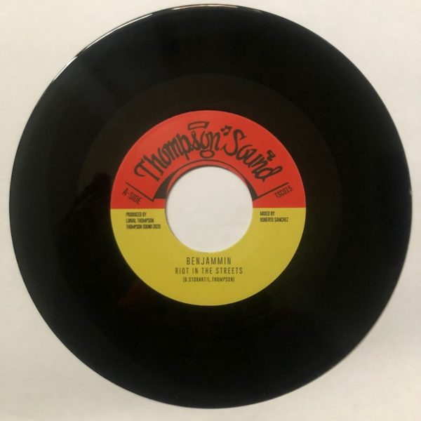 Benjammin Riot In The Streets 7 vinyl