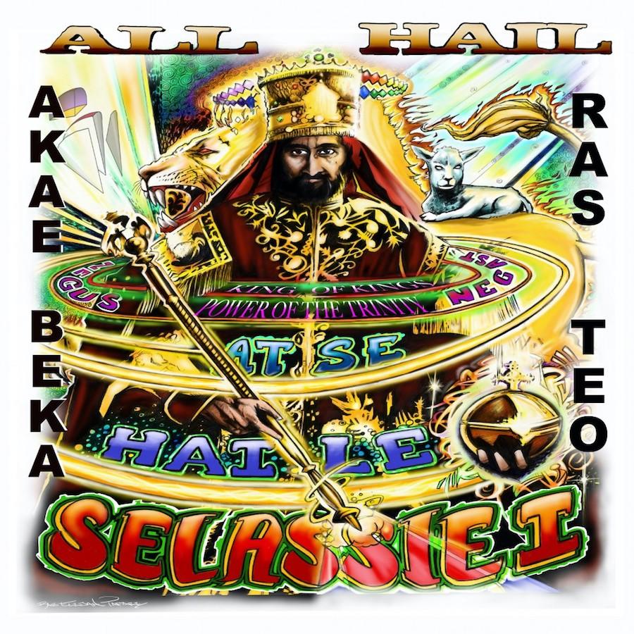 Akae Beka Ras Teo All Hail 7 vinyl