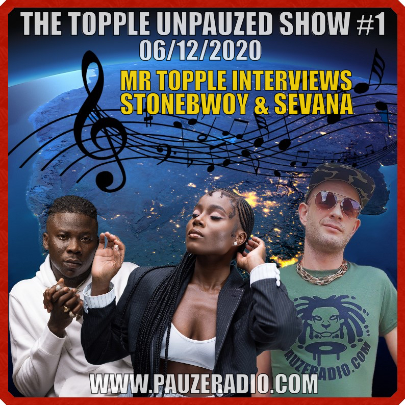 Mr Topple Interviews Stonebwoy Sevana