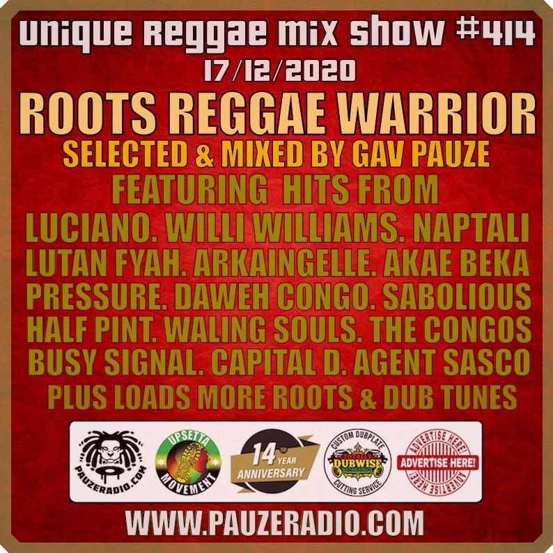 Roots Reggae Warrior
