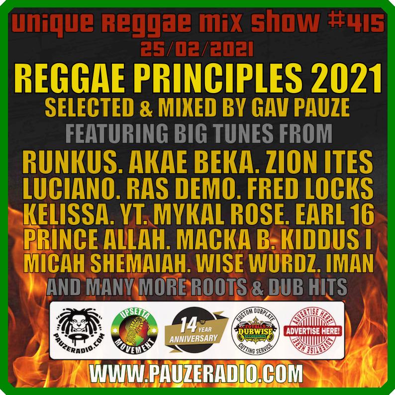 Reggae Principles 2021