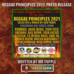 Reggae Principles 2021 Press Release